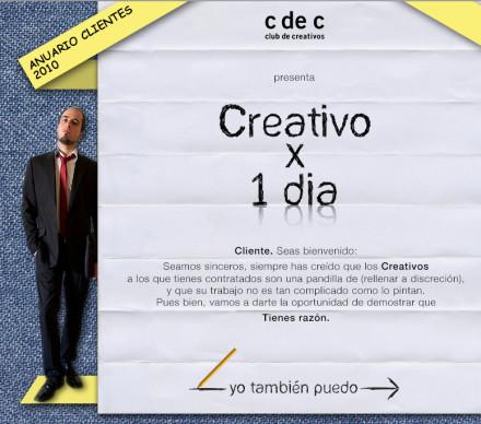 Creativo por un Dia